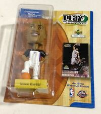 Vince Carter Raptors Bobble Head PlayMakers By Upper Deck W/ Collectible Card