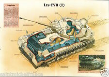 CVR(T) Combat Vehicle Reconnaissance Tracked United Kingdom 1972 FICHE CHAR TANK