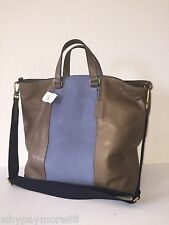 Coach Mens Bleecker Color-Block Center Stripe Shopper Day Tote 71428 NWT $698