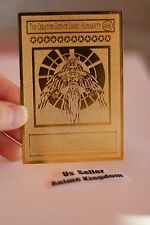 USA Seller Yugioh Golden Metal English Card THE CREATOR GOD OF LIGHT HORAKHTY