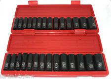 TEKTON 30pc. 1/2'' DR. DEEP IMPACT SOCKET SET SAE/METRIC - WARRANTY