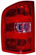 New 2011 2012 2013 Chevy Silverado 1500 / 2500 / 3500 left driver tail light