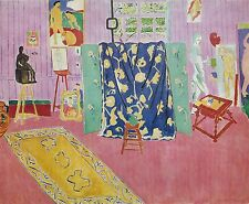 Henri Matisse, Pink Studio, Offset Lithograph.1972 Plate-signed