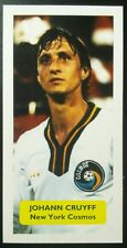 NETHERLANDS - NEW YORK COSMOS (!) - JOHAN CRUYFF - Score UK football trade card