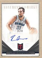 Ryan Anderson 286 2012-13 Momentum Monumental Marks Autograph Auto Blue 35/49