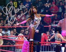 TNA SIGNED PHOTO RHAKA KHAN WRESTLING PROMO HOT KNOCKOUT WWE