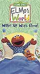 Elmo's World - Wake Up With Elmo [VHS] by