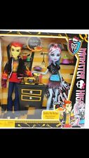 *Monster High Doll* CLASSROOM PARTNERS ABBEY BOMINABLE & HEATH BURNS 2 PACK SET