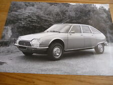 CITROEN GS PRESS PHOTOGRAPH BROCHURE RELATED jm