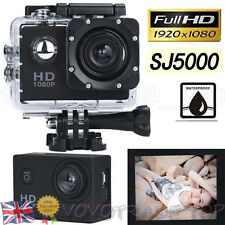 New SJ5000 Ultra HD 1080P Helmet Sports Action Waterproof Car Camera Camcorder