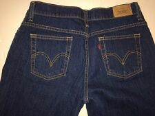 Womens LEVIS 550 Size 10 Short Relaxed Fit Tapered Leg Denim Jeans