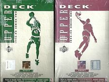 1994-95 Upper Deck Basketball Factory Sealed Hobby 2-Box Lot (Series 1 & 2)