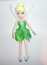 "Disney Store 21"" Tinkerbell Plush Doll Fairy Peter Pan Pixie Hollow"