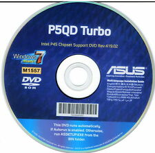 ASUS GENUINE MOTHERBOARD SUPPORT DISK P5QD TURBO Rev 419.02 M1557