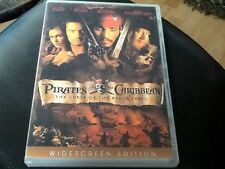 PIRATES OF THE CARIBBEAN . THE CURSE OF THE BLACK PEARL WIDESCREEN. UK REGION .2