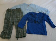 Boys Baby 24 mo 2T Clothes lot Guess Garanimals Toddler Infant Summer Fall