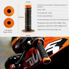 Left: 7/8'' 22MM Right:24mm CNC Moto Handle Grip For all KTM  Duke all 125-530cc
