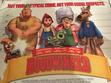 Hoodwinked Original Uk Quad Poster