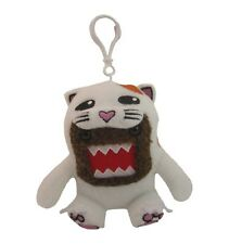"Domo Cat Costume Small 4"" Plush Toy Keychain Clip-On"
