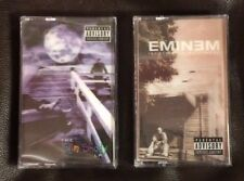 EMINEM THE MARSHALL MATHERS + SLIM SHADY LP 3D COVER LTD COLORED CASSETTE LOT