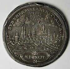 Nurnberg 1694 City View Silver Thaler