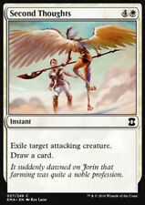 MTG SECOND THOUGHTS FOIL EXC - RIVALUTAZIONE - EMA - MAGIC