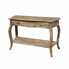 "Rustic Reclaimed Wood Sofa/ ""Console Table"" Living Room Accent Furniture Lounge"