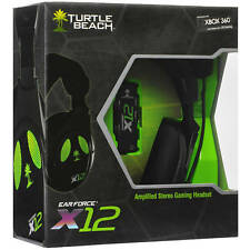Turtle Beach Ear Force X12 Amplified Stereo Gaming Headset for Xbox 360/ PC