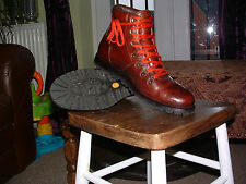 Timberland bottes marron taille 9.5 Heritage Alpine Hiker vintage style R.R.P £ 225