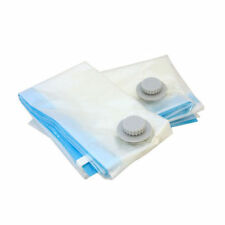 6 X MEDIUM VACCUM COMPRESSED STORAGE SPACE SAVER BAGS 60X80 CM