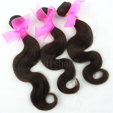 3 Bundles 14inch Brazilian Virgin Hair weave Body Wave Human Hair Extension Weft