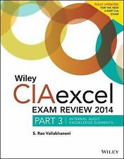 Wiley CIAexcel Exam Review 2014: Part 3, Internal Audit Knowledge Elem-ExLibrary