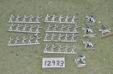 15mm unpainted american civil war ACW old strip figures (as photo) (12933)