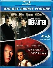 INTERNAL AFFAIRS / THE DEPARTED (Blu-ray Disc, 2014 2-Disc Set)[See Description]