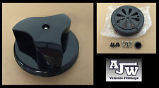 Rotary Wind Driven BLACK Van Roof Vent Nissan NV200, NV400, Toyota Hi Ace