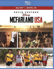 Disney McFARLAND USA Kevin Costner Blu-Ray + Digital HD NEW with SLIP COVER