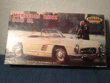 Aurora Mercedes Benz 300 Sl Scale Model Plastic Assembly Kit Box Only Vintage