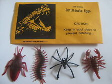 Rattlesnake Eggs in Envelope spider scorpion cockroach Joke Prank Gag Trick