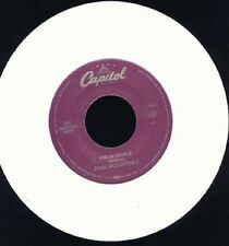 "Paul McCartney - C'mon People / Down to the River - Capitol 7"" 45 WHITE Vinyl"