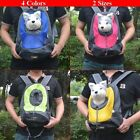 Pet Front Carrier Dog Cat Puppy Travel Bag Mesh Backpack Head out Carrier Bag DB