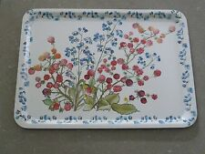 MELFORM Floral Melamine Serving Tray, a Monetti S.p.A. Original made in Italy.
