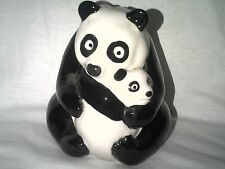 WADE NAT WEST PANDA BEAR MOTHER AND BABY MONEY BANK PERFECT NAT WEST STOPPER