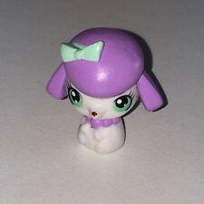 Littlest PetShop BEBE CANICHE BLANC ET ROSE 3030 J08 DOG PET SHOP