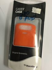 BlackBerry 8110 Pearl Silicon Case - Light Orange BBYS81O Brand New in packaging