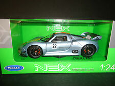 Welly Porsche 918 RSR Race Version 1/24
