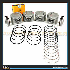 Engine Pistons & Rings Set 1993-96 Honda Prelude 2.2L VTEC P13 H22A1 Brand New!