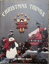 Christmas Things by Margaret Wilburn Tole Painting Instruction Book 1994 Holiday