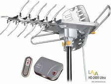 REFURBISHED - LAVA HD2605 HDTV DIGITAL ROTOR AMPLIFIED OUTDOOR TV ANTENNA
