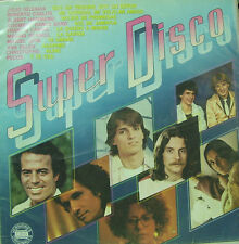 SUPER DISCO-JULIO IGLESIAS, ROBERTO CARLOS, PECOS, CHRISTOPHE.. LP 1980 SPAIN