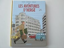 TINTIN LES AVENTURES D'HERGE 2011 TTBE/NEUF  BOCQUET FROMENTAL SANS JAQUETTE